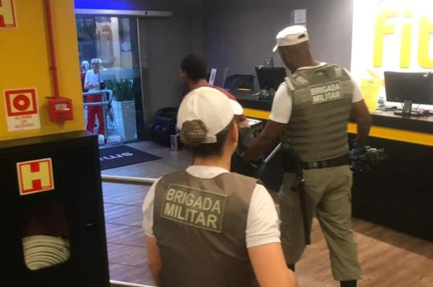 Ladrão invade academia e é preso após ser encontrado dormindo no local Cláudio Dotto/Arquivo pessoal