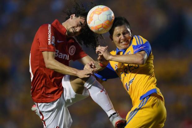 """Lelê Bortholacci: """"É um prazer voltar para a competição que a gente mais gosta de jogar"""" ALFREDO ESTRELLA/AFP"""