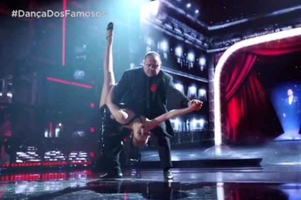Leo Jaime vence a Dança dos Famosos, do Domingão do Faustão Reprodução/TV Globo