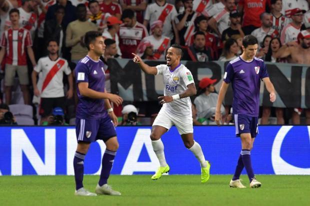 """Cacalo: """"River entra na lista de clubes que deram vexame mundial"""" Giuseppe Cacace/AFP"""
