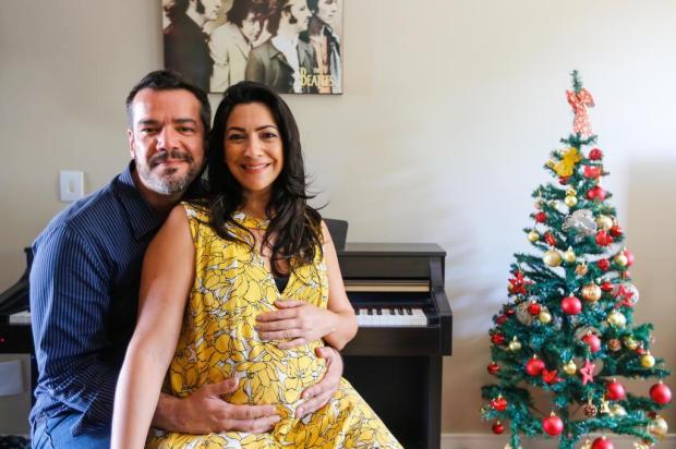 Cris Silva e o primeiro Natal com o filho nos braços André Feltes/Especial
