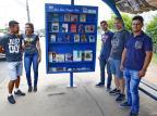 Grupo transforma parada de ônibus em biblioteca, em Cachoeirinha Robinson Estrásulas / Agência RBS/Agência RBS