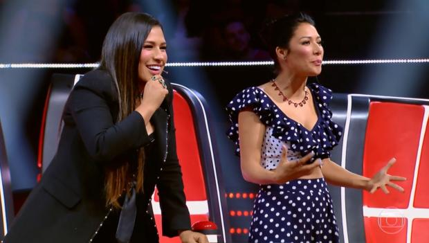 """""""The Voice Kids"""": estreia teve """"A Bela e a Fera"""", versão de clássico do Queen e muita fofura TV Globo / Reprodução/Reprodução"""