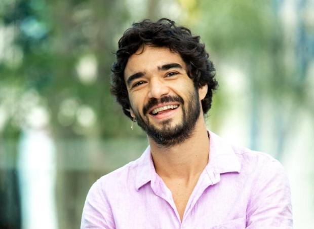 """No dia do anúncio do fim de """"Vídeo Show"""", Caio Blat revela na atração quem foi seu primeiro amor Divulgação/Globo"""