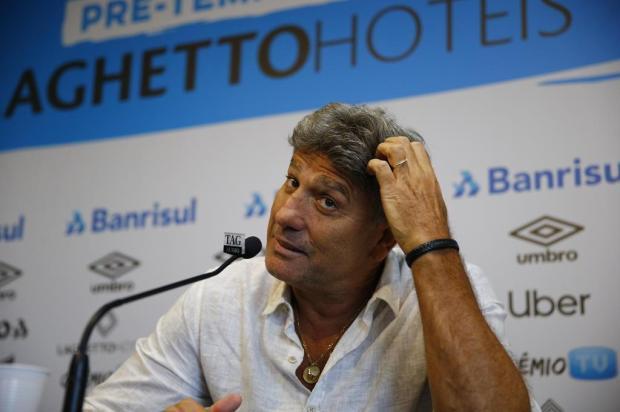 """Cacalo: """"Me surpreendi com a manifestação de Renato, de que o Grêmio iniciará o Gauchão com uma equipe alternativa"""" Félix Zucco/Agencia RBS"""
