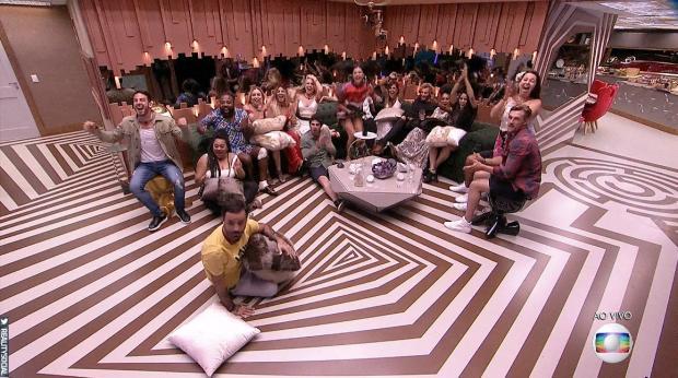 """""""BBB 19"""": participantes são obrigados a dizer quem não tem capacidade de vencer o reality Reprodução / Globo/Globo"""