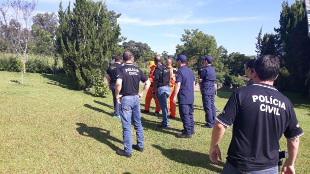 Preso suspeito de participação na morte de gerente de banco de Anta Gorda Polícia Civil / Divulgação/Divulgação
