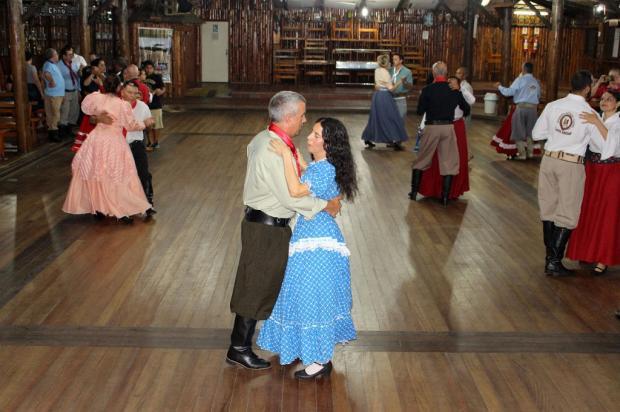 CTG forma primeira turma de dança com alunos cegos Divulgação / CTG Pousada da Figueira/CTG Pousada da Figueira