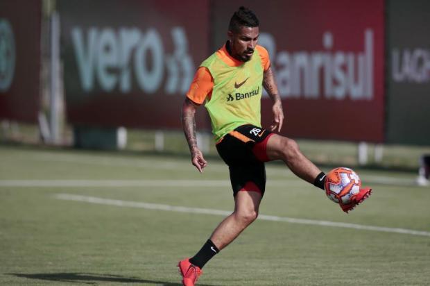 """Lelê Bortholacci: """"Uma das melhores notícias do ano foi o primeiro treino com bola de Guerrero"""" André Ávila/Agencia RBS"""