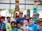 Voluntário em projeto social vira professor de skate, em Viamão Omar Freitas/Agencia RBS
