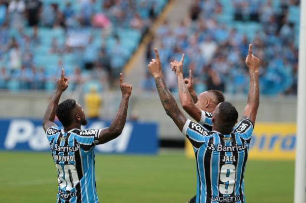 """José Augusto Barros: """"Com pés no chão, mas podemos comemorar"""" Fernando Gomes/Agencia RBS"""