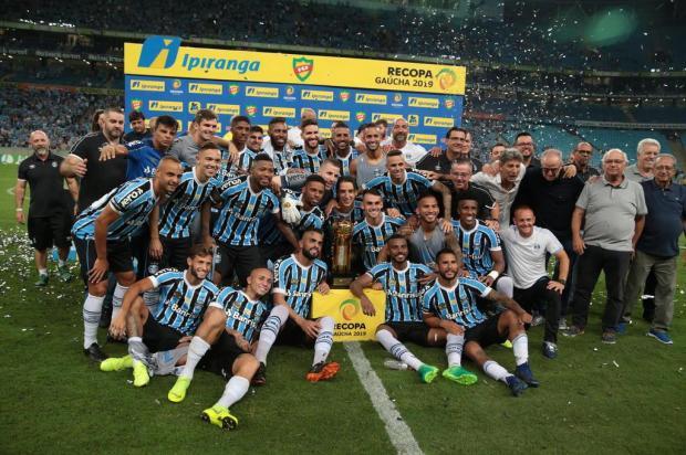 """José Augusto Barros: """"Somos favoritos ao título, com sobras"""" Fernando Gomes/Agencia RBS"""