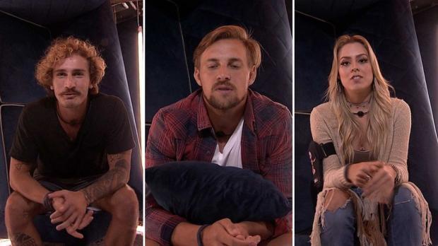 """""""BBB 19"""": Alan, Diego e Isabella estão no quarto Paredão TV Globo / Reprodução/Reprodução"""