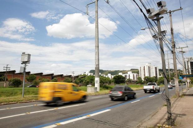 Em sete locais, infrações flagradas por câmeras da EPTC podem gerar multa Camila Domingues/Agencia RBS