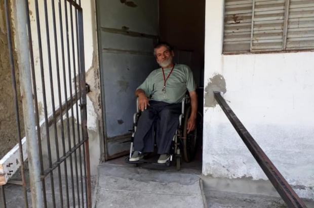 Falta de bateria para cadeira de rodas dificulta locomoção de morador de Porto Alegre Arquivo Pessoal/Arquivo Pessoal