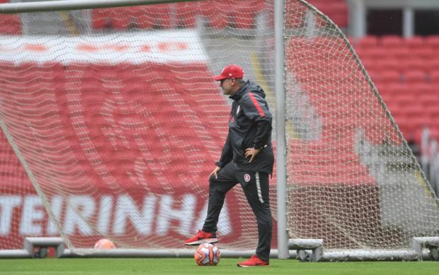 "Luciano Périco: ""Antes de estrear na Libertadores, Inter precisa dar rodagem ao time"" Ricardo Duarte / Sport Club Internacional/Sport Club Internacional"