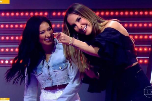 """""""The Voice Kids"""": gauchinha Luiza Barbosa segue na disputa Reprodução/Globo"""