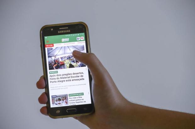 Acessar o site do DG pelo celular está mais fácil: confira as mudanças Isadora Neumann/Agencia RBS
