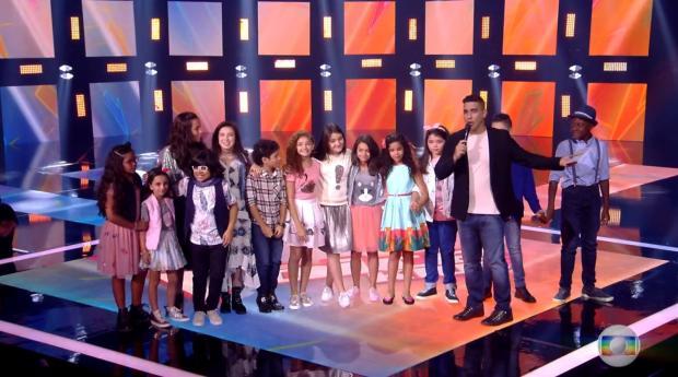 """""""The Voice Kids"""": crianças cantam Ariana Grande, Christina Aguilera e Chico Buarque Reprodução / TV Globo/TV Globo"""
