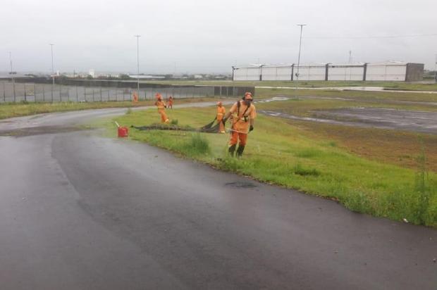 Porto Seco passa por últimos ajustes antes dos desfiles Prefeitura de Porto Alegre / Divulgação/Divulgação