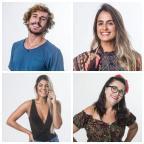 """""""BBB 19"""": Paredão quádruplo terá Carol, Tereza, Hariany e Alan TV Globo / Divulgação/Divulgação"""