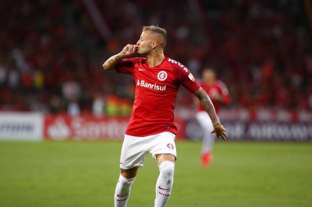 Lelê Bortholacci: antes dos 20 minutos de Inter x Alianza Lima e os secadores já tinham trocado de canal Marco Fávero/Agencia RBS