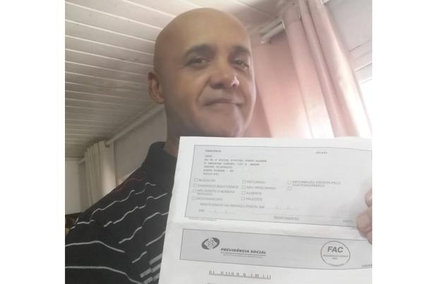 Após reportagem do Diário, morador de Porto Alegre consegue a aposentadoria LeitorDG / Arquivo Pessoal/Arquivo Pessoal