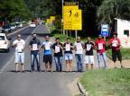 Com 99 mortes por atropelamento desde 2010, RS-040 vira alvo de protestos Ronaldo Bernardi / Agência RBS/Agência RBS