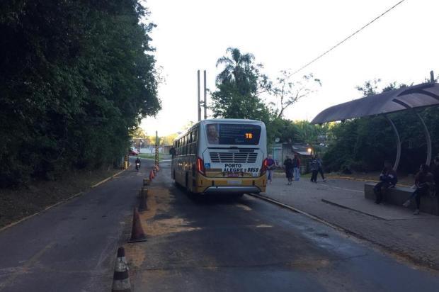 Ônibus voltam a circular em direção ao Campus do Vale, da UFRGS, na Capital Tiago Boff/Agencia RBS