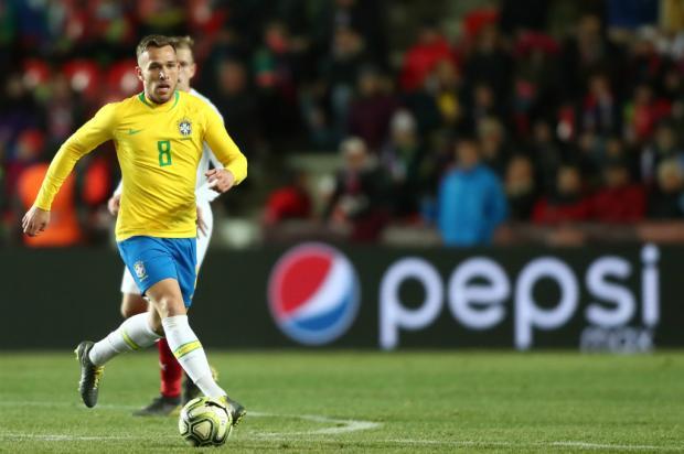 Arthur será a principal atração da Seleção contra a Venezuela Lucas Figueiredo / CBF/Divulgação/CBF/Divulgação
