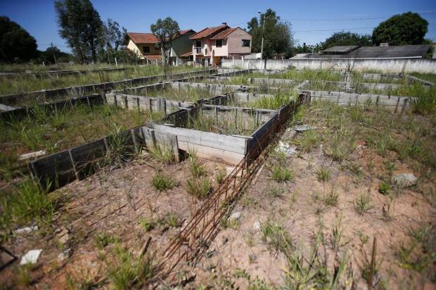 Construção de creche está parada há três anos em Gravataí Félix Zucco/Agencia RBS