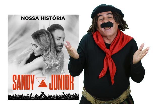 """Guri de Uruguaiana e o show de Sandy & Junior em Porto Alegre: """"Vai ver eles querem aproveitar o Acampamento Farroupilha"""" Artebiz/Divulgação"""