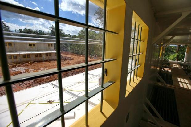 Duas galerias da penitenciária de Sapucaia do Sul estão concluídas Lauro Alves/Agencia RBS