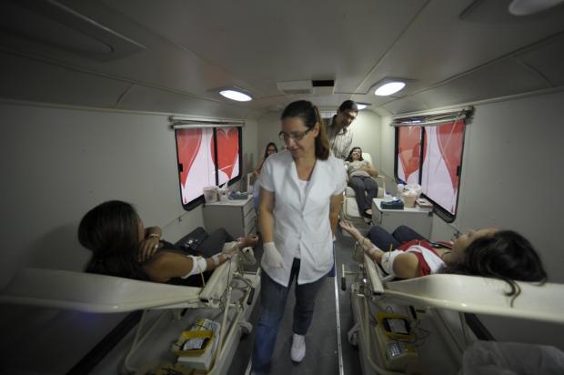 Estado interrompe circulação de unidade móvel para coleta de sangue no RS Ronaldo Bernardi / Agência RBS/BD - 12/12/2011/Agência RBS/BD - 12/12/2011