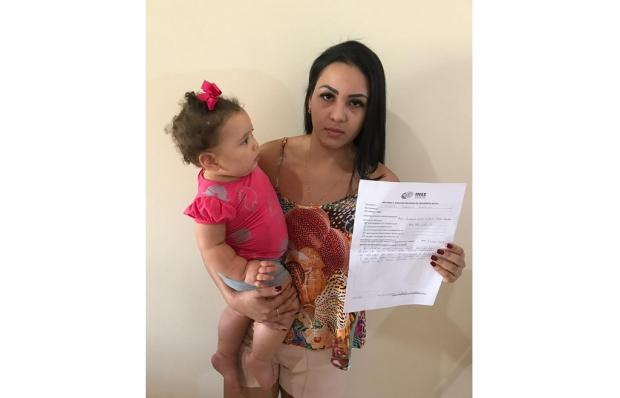 Moradora de Novo Hamburgo espera há um ano pelo salário-maternidade LeitorDG / Arquivo Pessoal/Arquivo Pessoal
