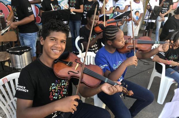 Orquestra obtém financiamento para continuar projeto com crianças de Porto Alegre Caroline Tidra/Agência RBS