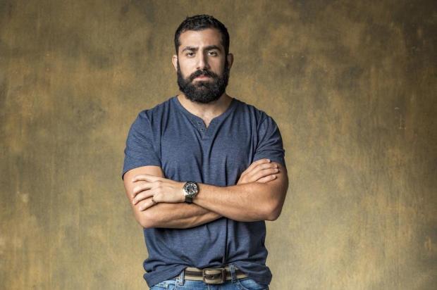 """Kaysar celebra vitória de """"Órfãos da Terra"""" no Emmy: """"É preciso mais empatia por refugiados"""" Paulo Belote/TV Globo/Divulgação"""