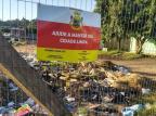 Terreno da prefeitura ao lado de posto de saúde é usado para descarte irregular de lixo, em Alvorada Arquivo Pessoal/Arquivo Pessoal