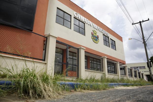 Há 15 anos em obras, prédio da Câmara de Alvorada já custou mais de R$ 1 milhão Mateus Bruxel / Agência RBS/Agência RBS
