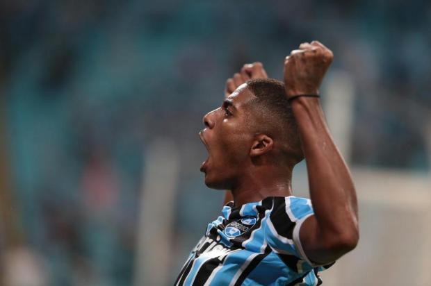 Luciano Périco: deu tudo certo para o Grêmio na noite de Libertadores Fernando Gomes/Agencia RBS