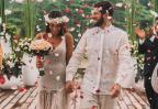 FOTOS: DJ Alok e Romana Novais renovam votos de casamento na Indonésia Brian Baldrati / Instagram @isthisreal/Instagram @isthisreal