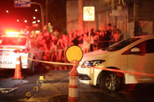 Passageiro de transporte por aplicativo é morto a tiros em Porto Alegre Jefferson Botego / Agência RBS/Agência RBS