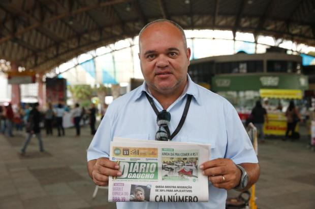 Aniversário do Diário Gaúcho: há 19 anos, jornal é companhia inseparável dos leitores no transporte público André Ávila/Agência RBS