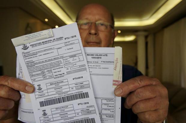 Mudança nos cálculos do IPTU de Guaíba assusta moradores Mateus Bruxel/Agencia RBS