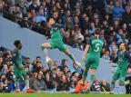 Duelo de tirar o fôlego entre Manchester City e Tottenham Anthony Devlin/AFP