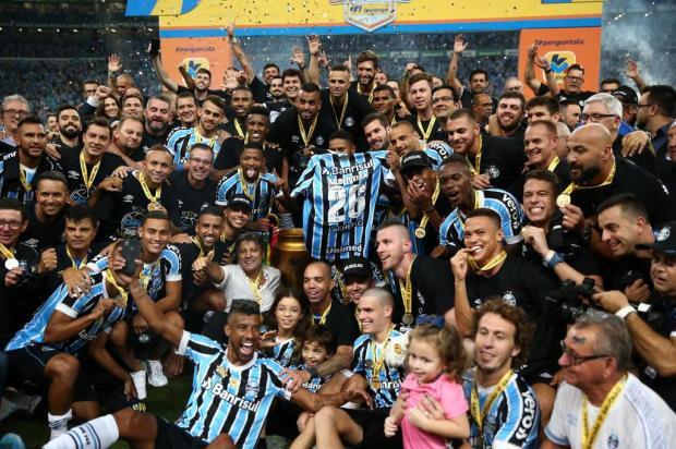 Cacalo: Gauchão foi conquistado pelo time que mais quis vencer Jefferson Botega/Agencia RBS