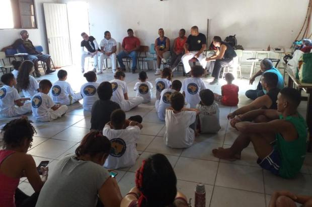 Grupo de capoeiristas da Vila São Judas Tadeu, em Porto Alegre, consegue novos abadás para batizado Arquivo Pessoal/Arquivo Pessoal