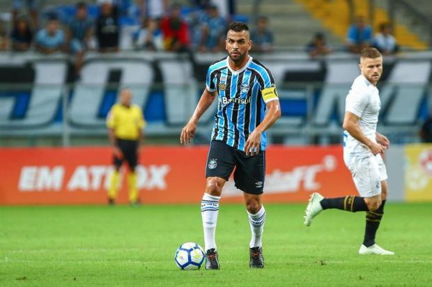 Guerrinha: o capitão Maicon faz uma falta nada pequena ao Grêmio LUCAS UEBEL/Grêmio / Divulgação