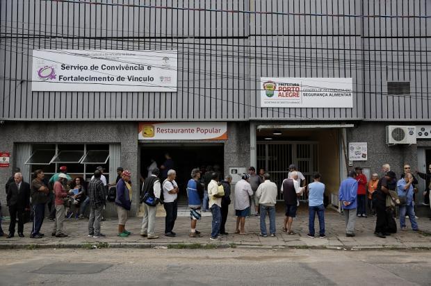 Último restaurante popular da Capital encerra atividades Mateus Bruxel / Agência RBS/Agência RBS