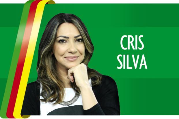"Cris Silva: ""Quando a mentira chega"" Foto: Arte DG/"